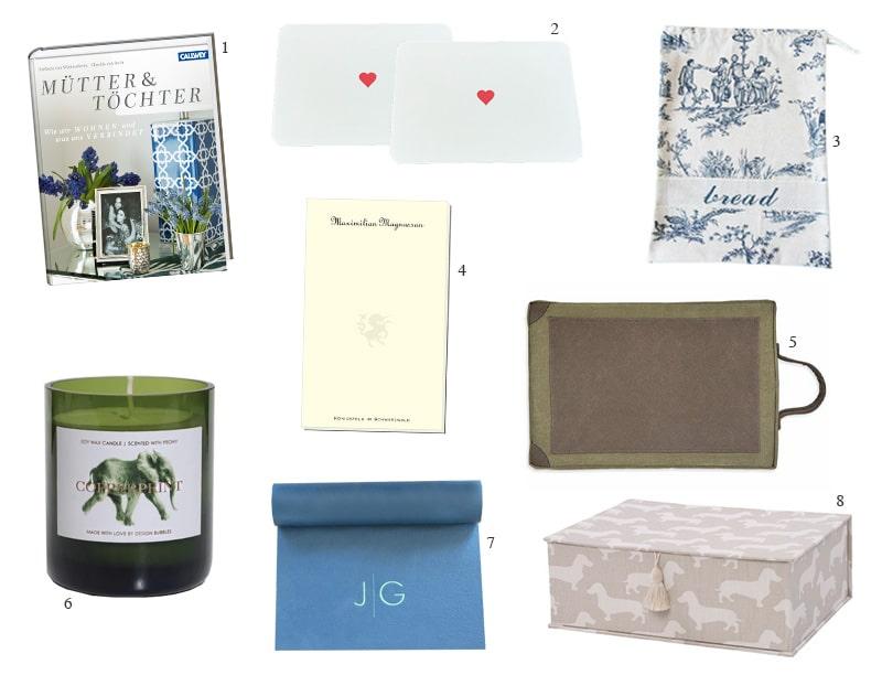 Stijlvolle cadeau-ideeën voor Moederdag van Rabe von Pappenheim, Copperprint, Allesklarschiff en Co.