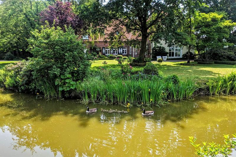 Bezoek aan Sarah Kock: Boerderij in Münsterland