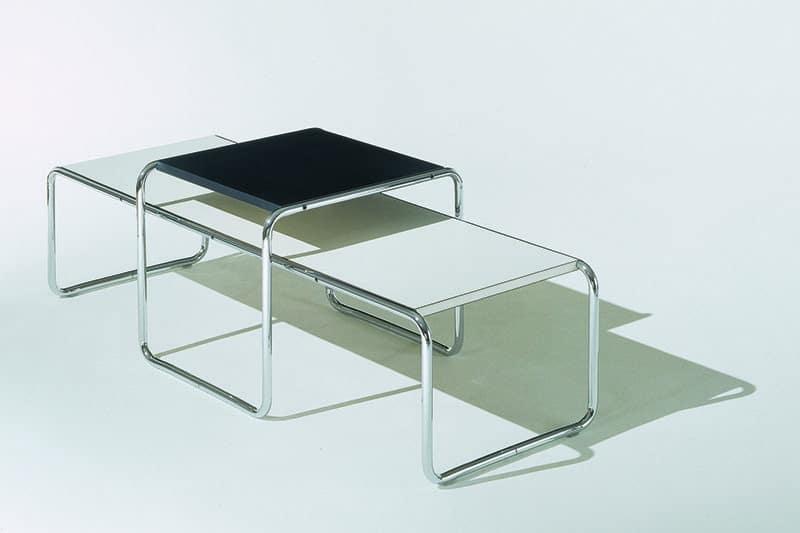 Designklassiekers: De Laccio salontafels van Marcel Breuer