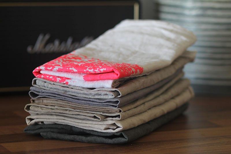 Nul Afval: vaatdoeken & linnen servetten