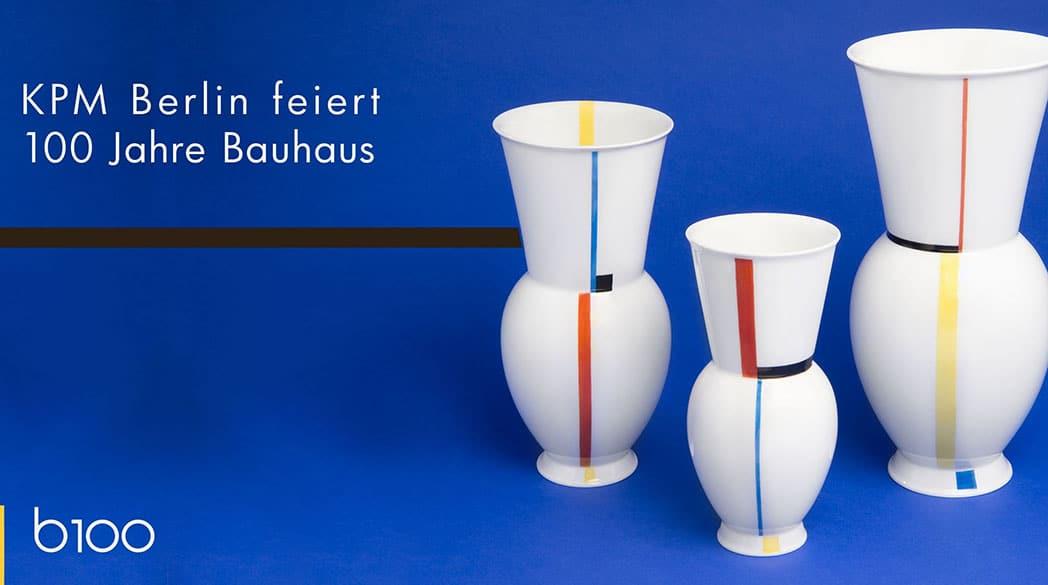 Designklassiekers: Bauhaus-porselein van KPM